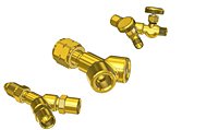 Brass-Y-Connectors