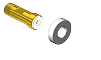 CGA-170-Regulator-Nipple-Threaded---Nipple-Countersunk-Nipples-for-Non-Corrosive-Gases-in-Small-Cylinders