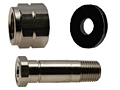 CGA 330 Regulator Inlet Nut & Nipples for Non Corrosive Gases