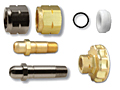 CGA 555 Regulator Inlet Nuts   Nipples for Propane  Butane for Liquid Withdrawal