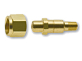 CGA 701 Regulator Inlet Nuts   Nipples for Oxygen